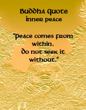 Buddha Quotes On Inner Peace