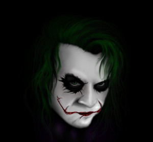 Sad Joker Drawing Joker Drawing by RancidRainbow