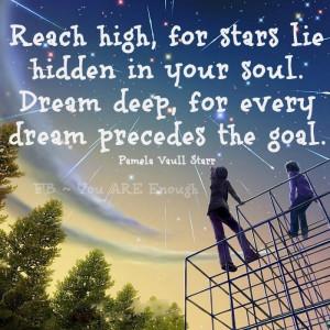 Reach for the sky..