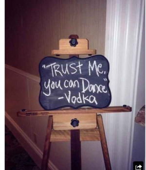 Include vodka quotes for the dance floor