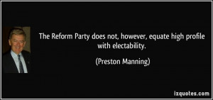 More Preston Manning Quotes