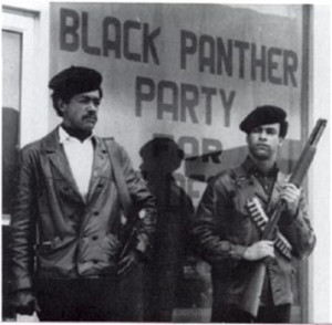 The Black Panther Party for Self Defense - Huey Newton & Bobby Seale!