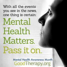 Quotes About Mental Health Awareness ~ Mental Health Awareness on ...