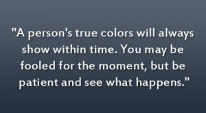 True Colors …