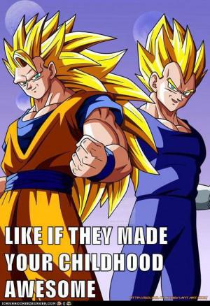 Vegeta And Goku Dragon Ball