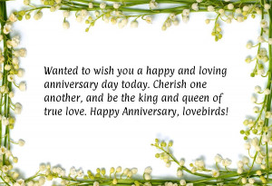 Wish You A Happy And Loving Anniversary Day Today