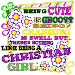 Cute Christian Girl Neon - Pro World