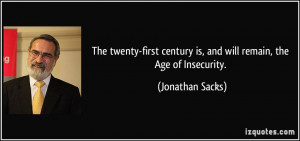 More Jonathan Sacks Quotes
