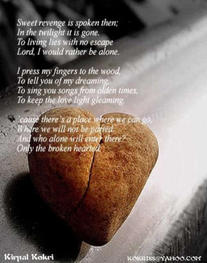 broken heart poems and quotes for myspace.html