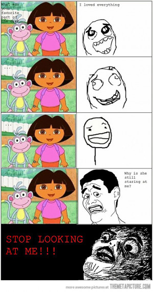 Funny photos funny Dora the Explorer monkey