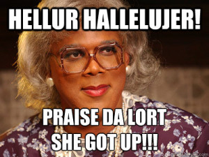 madea hallelujer quotes