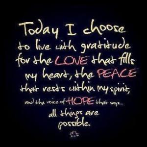 Peace within my spirit