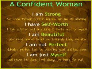 Confident Woman Quotes