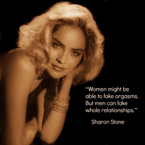 Movie Actor Quote - Sharon Stone - Film Actor Quote #sharonstone ...