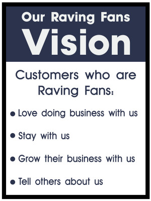 raving fans customer satisfaction