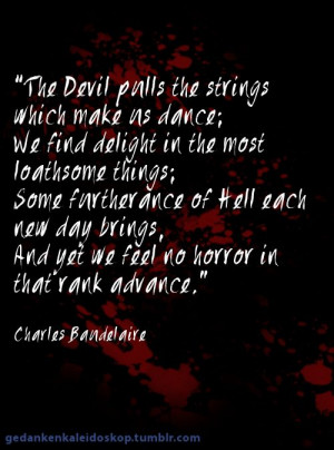 The Devil... #quote