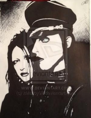 Twiggy Ramirez Marilyn Manson