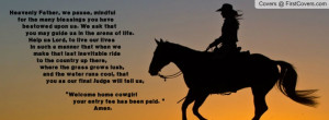 Cowgirl Faith Quotes...