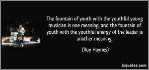 Endearing Quotes Youth And