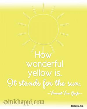 Bright Sunny Day Quotes Very happi bright yellow sunny