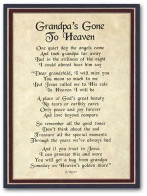 Rest in peace grandpa!!!!