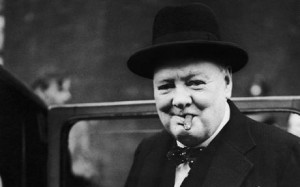 ... carried the speeches of Winston Churchill in her infamous handbag