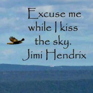 Jimi Hendrix quote. Quotes