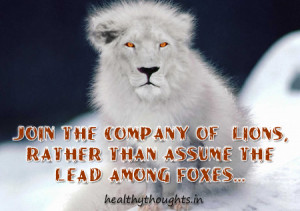 Join-the-company-of-lions-fox-quote