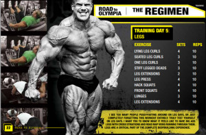 Road To Olympia | Jay Cutlers Leg training day | The Regimen