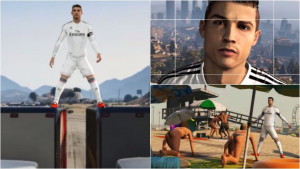 ... Happens When You Put Ronaldo In Grand Theft Auto 5. (It's Ridiculous