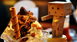 Danbo loves ice cream Wallpaper 1920×1080 1920×1058 Wallpaper