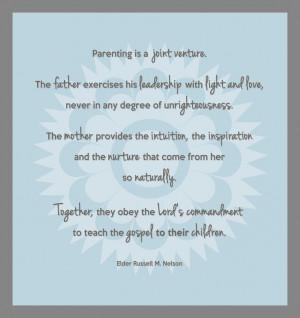 Parenting is...