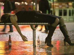 Binge drinking makes you happier?