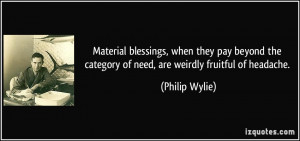 The Category Needare Weirdly Fruitful Headache Blessing Quote