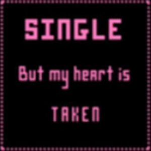 single but my heart is taken Image