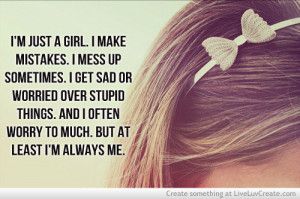 Im Just A Girl