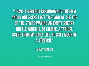 Quotes About Nervous Breakdowns