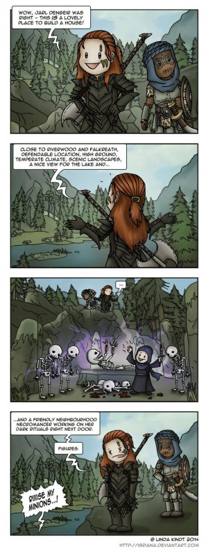 Skyrim: Neighbourhood Problems by Isriana on deviantART Games, Bandit ...