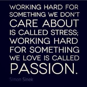 Werken met minder stress en meer passie!