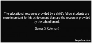More James S. Coleman Quotes