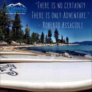 SUP Tahoe Adventure Quote