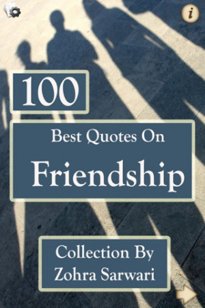 Download 100 Best Quotes on FRIENDSHIP iPhone iPad iOS
