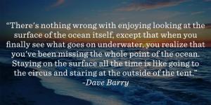 Under The Sea Quote