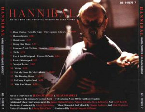 Hans Zimmer Hannibal Album...