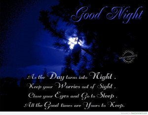 Good Night Pictures, Images for Facebook, Myspace, Hi5 - Page 3