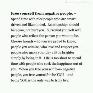 You're negative...do something better with your life.
