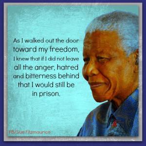 when mandela was released from prison in 1990 he was still unwavering ...
