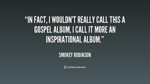 Quote Smokey Robinson Fact...