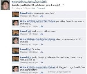 Facebook Status Quotes...