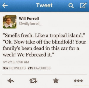 Will Ferrell Twitter Quotes Taylor Swift Funny will ferrell smell
